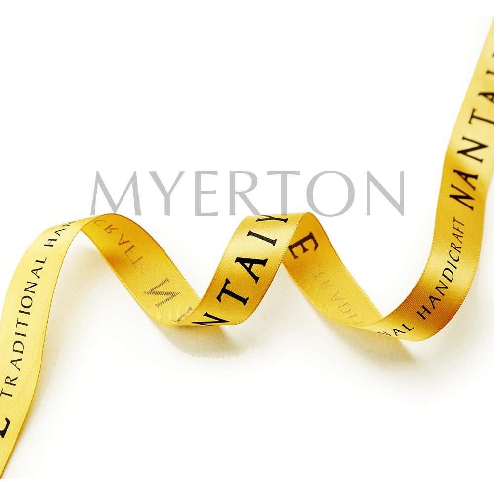 printed satin ribbon m