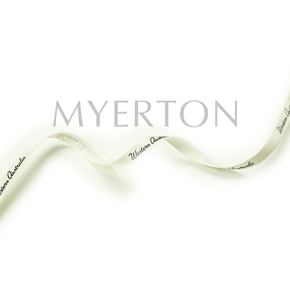 Western Australia 9mm printed ribbon Myerton Packaging
