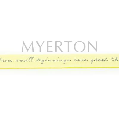 Grosgrain printed ribbon Myerton Packaging