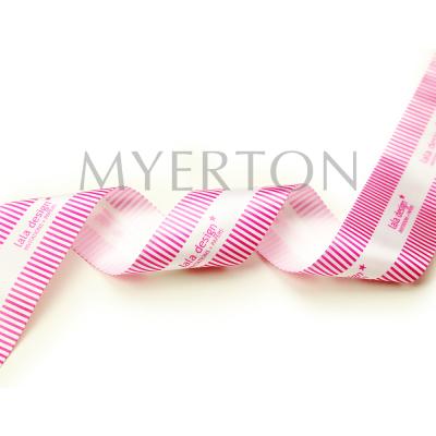 satin printed ribbon Myerton Packaging