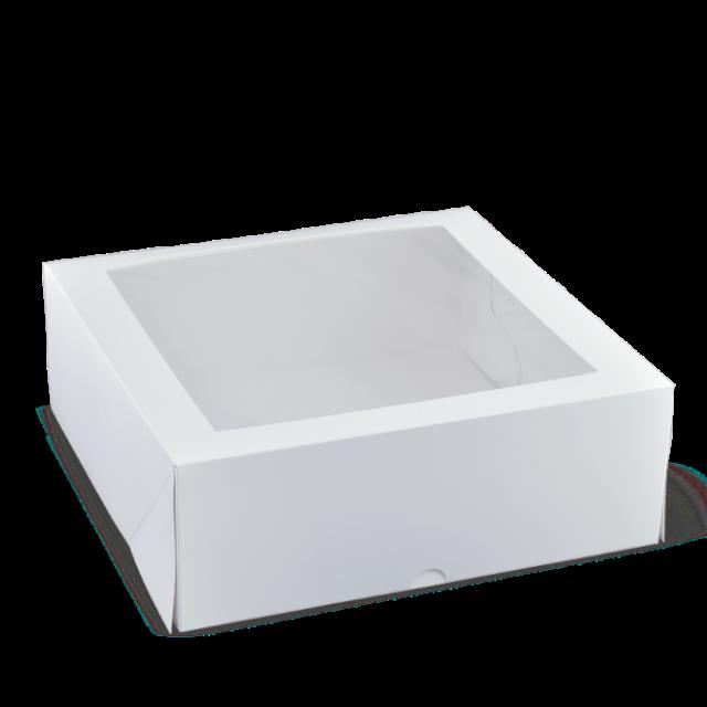 11 inch square patisserie box