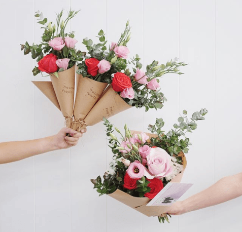 floral wrapping