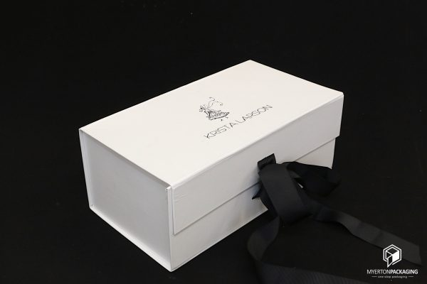 rigid box - white