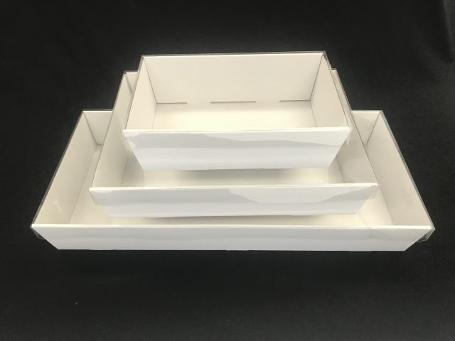 catering tray white