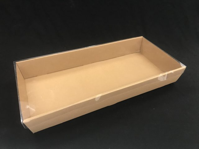 catering tray large brown