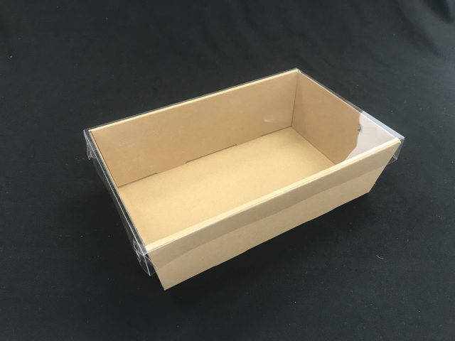 catering tray small brown