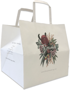 printed bag for bakery packaging