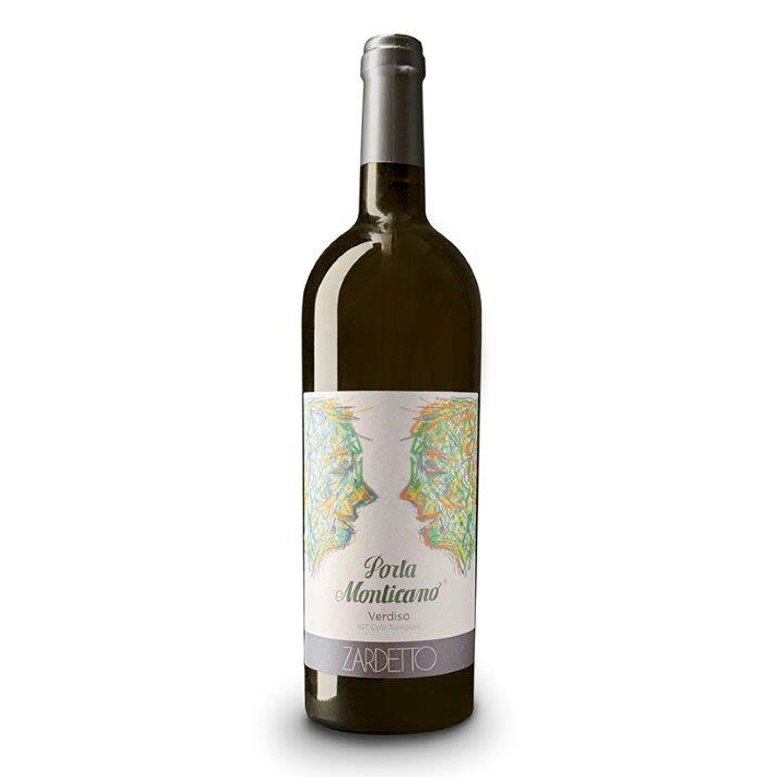 wine label made from grapes