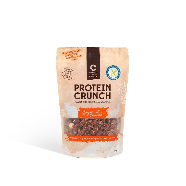 Coastal Crunch recyclable pouch food packaging